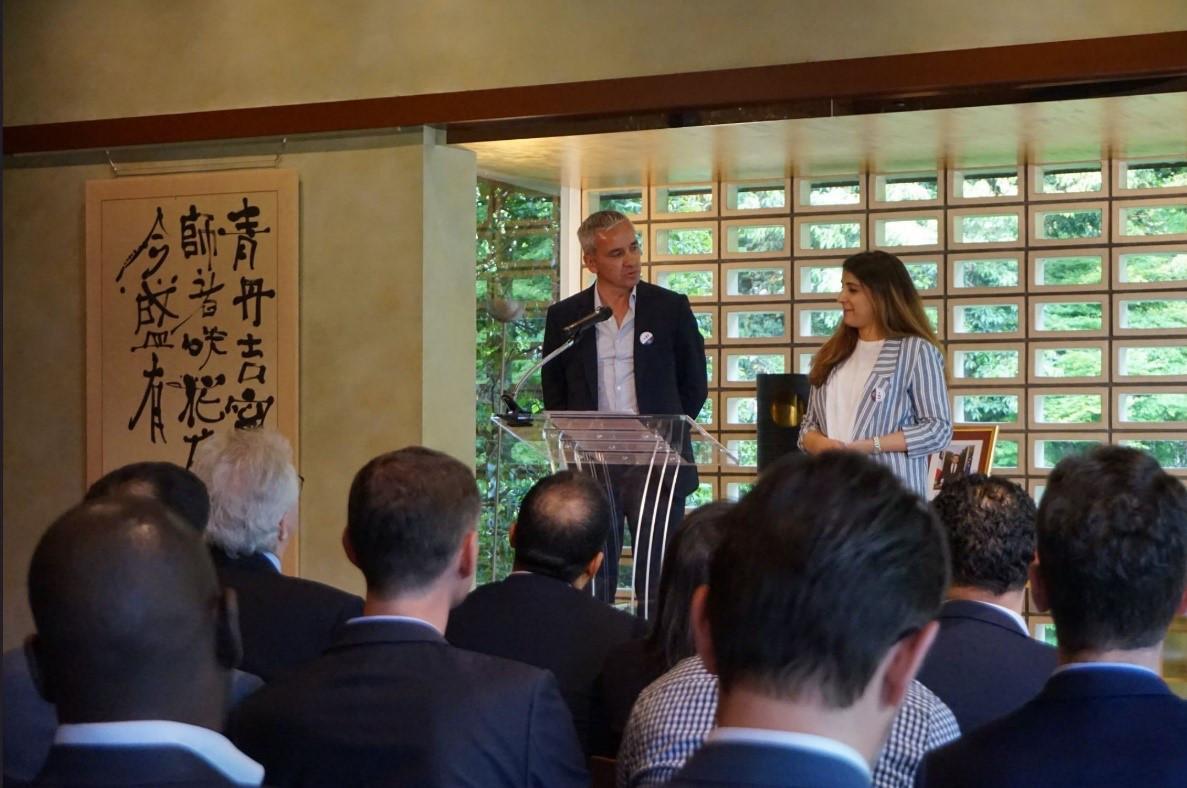 Rencontre avec l'ambassadeur de France au Japon