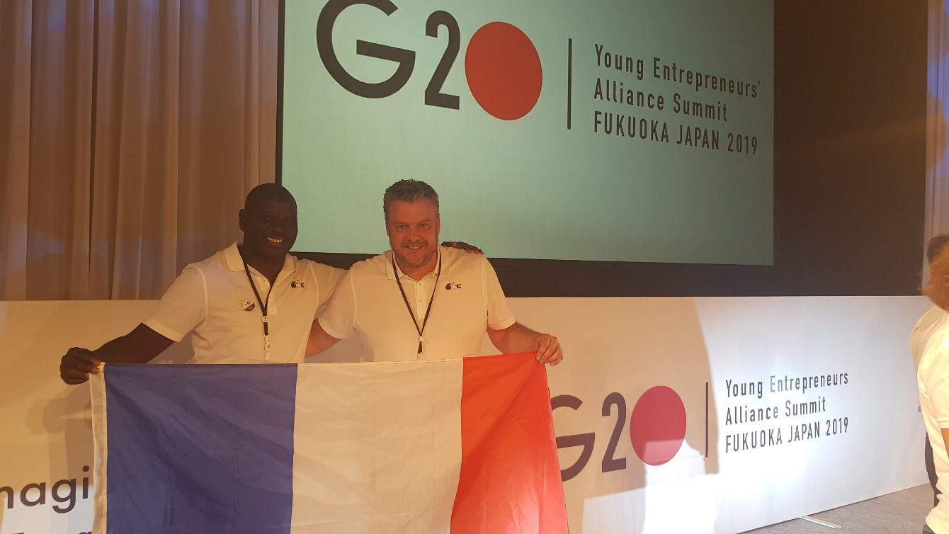 Momar M'Baye (Senef Group) et Grégory Pascal (SensioLabs)
