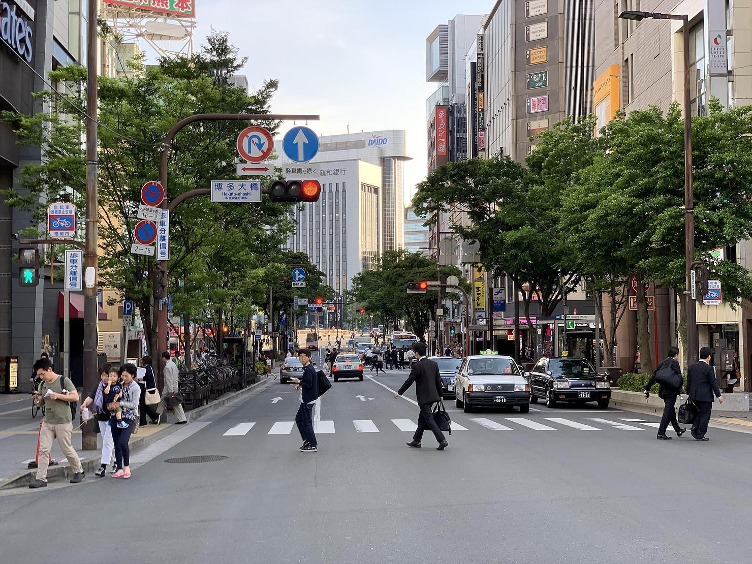 Un instantané de Fukuoka, silicon valley du Japon