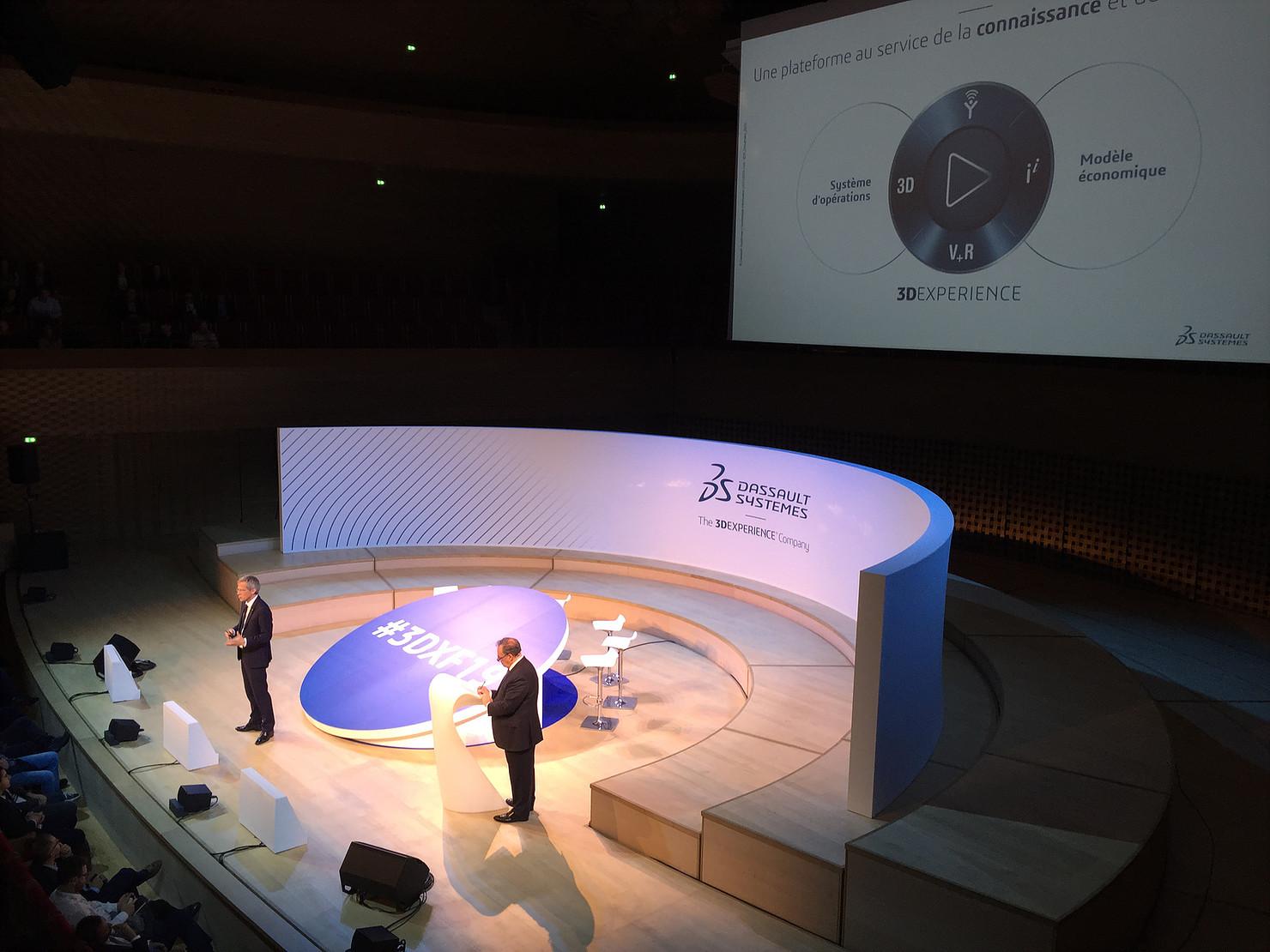 3D Expérience Forum au coeur de la renaissance industrielle