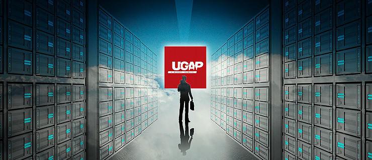 Un modèle représentant le logo de l'UGAP