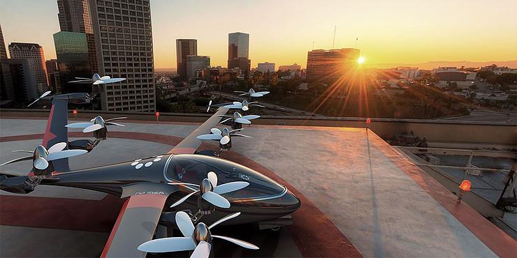 Uber pense au développement de taxis volants